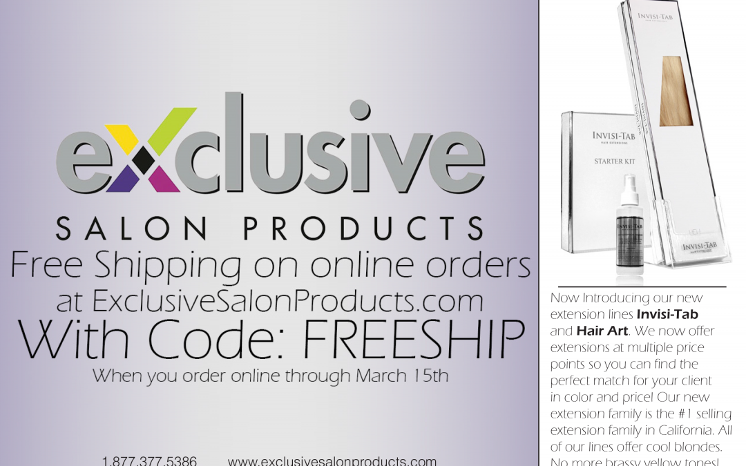 Exclusive Salon Products Print Work